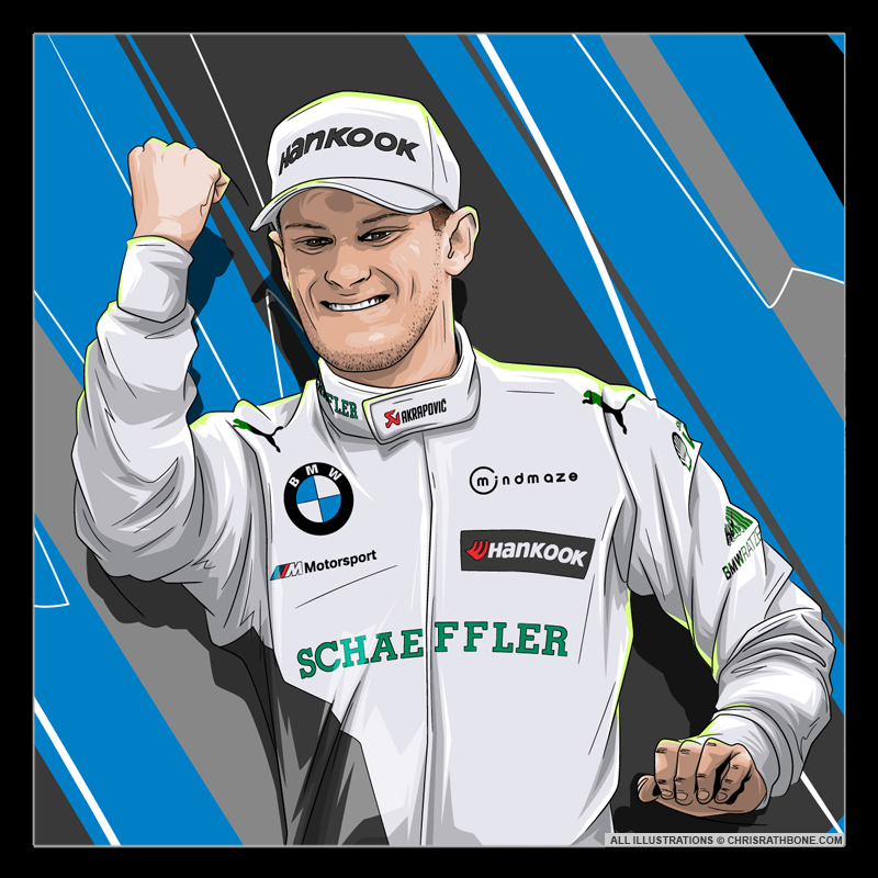 DTM Driver Illustrations by Chris Rathbone