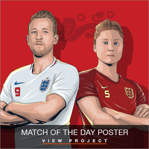 Match of the Day illustrations by Chris Rathbone